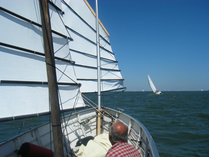 Halve wind tussen Pampus en Marken