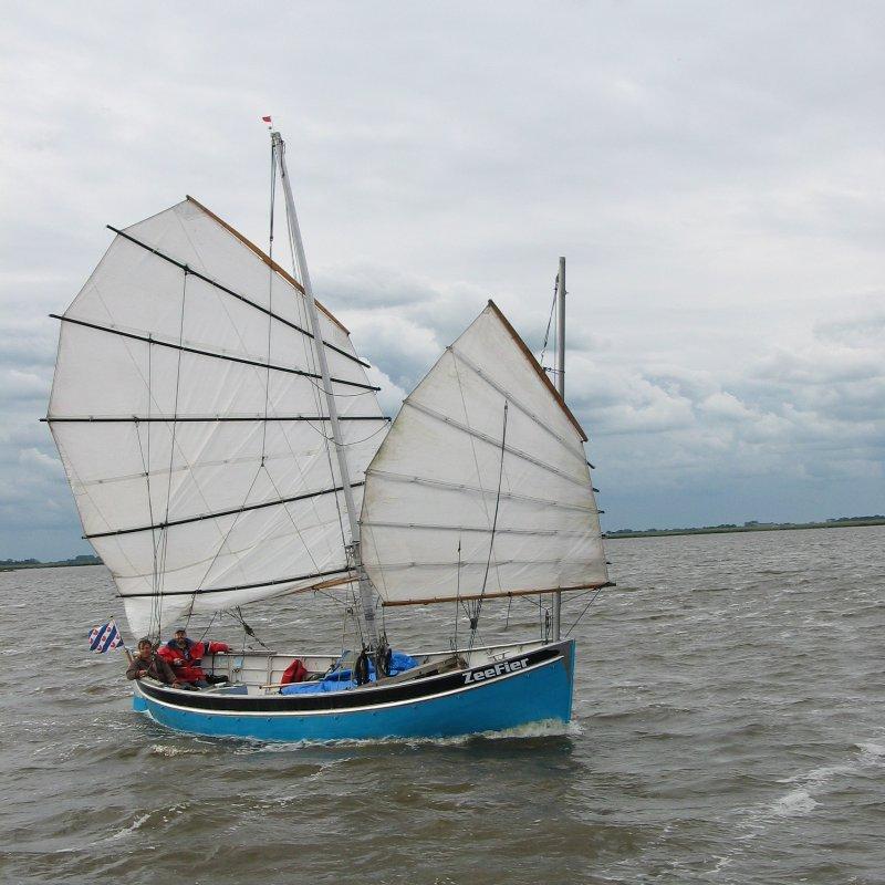 ZeeFier op het Lauwersmeer (foto L. Foltz)