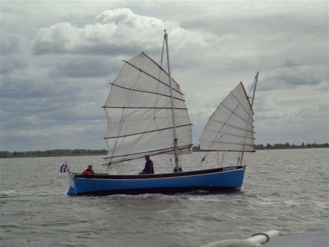 ZeeFier op het Lauwersmeer