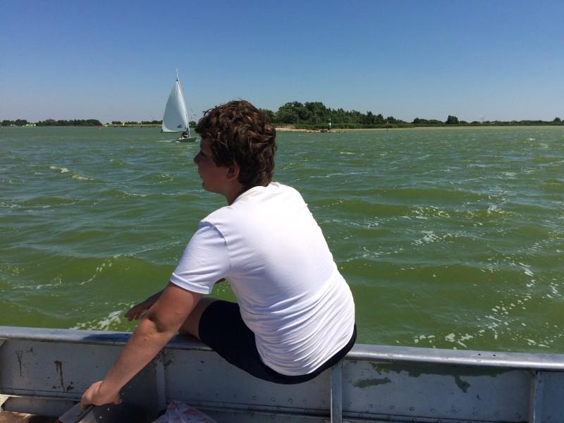 Zwemmen in het IJsselmeer