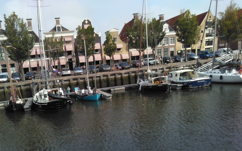 Vertrek uit de Noorderhaven, Harlingen