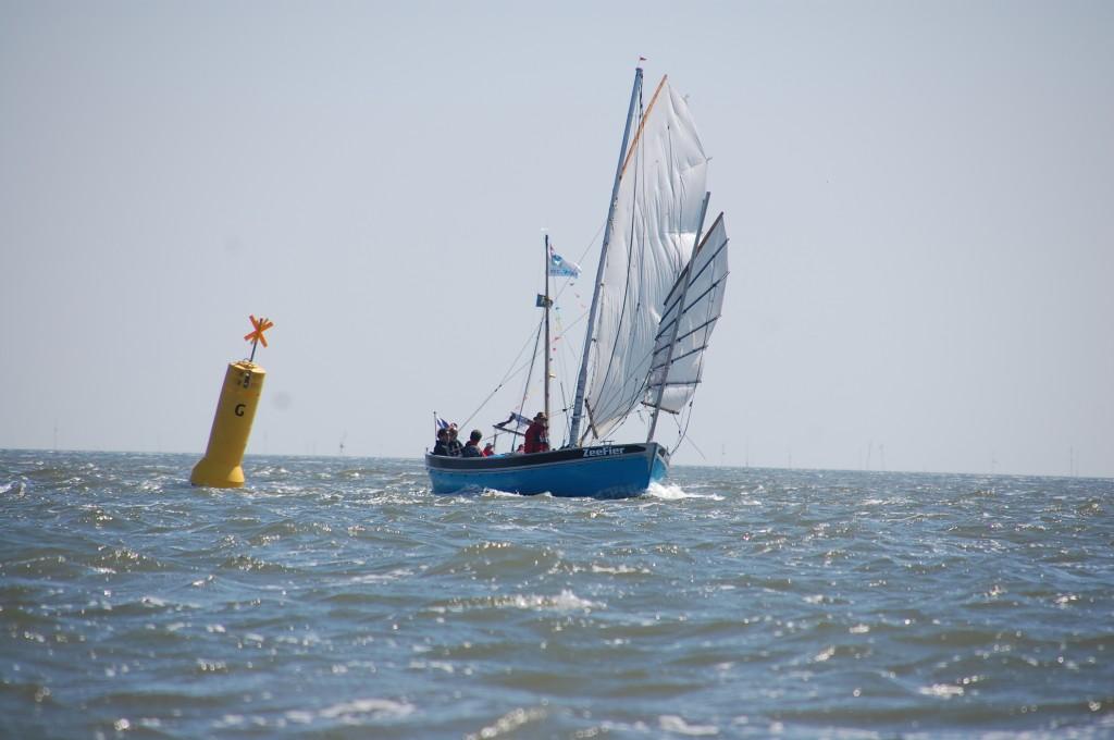 ZeeFier op weg naar Terschelling (foto Jan Glazema)