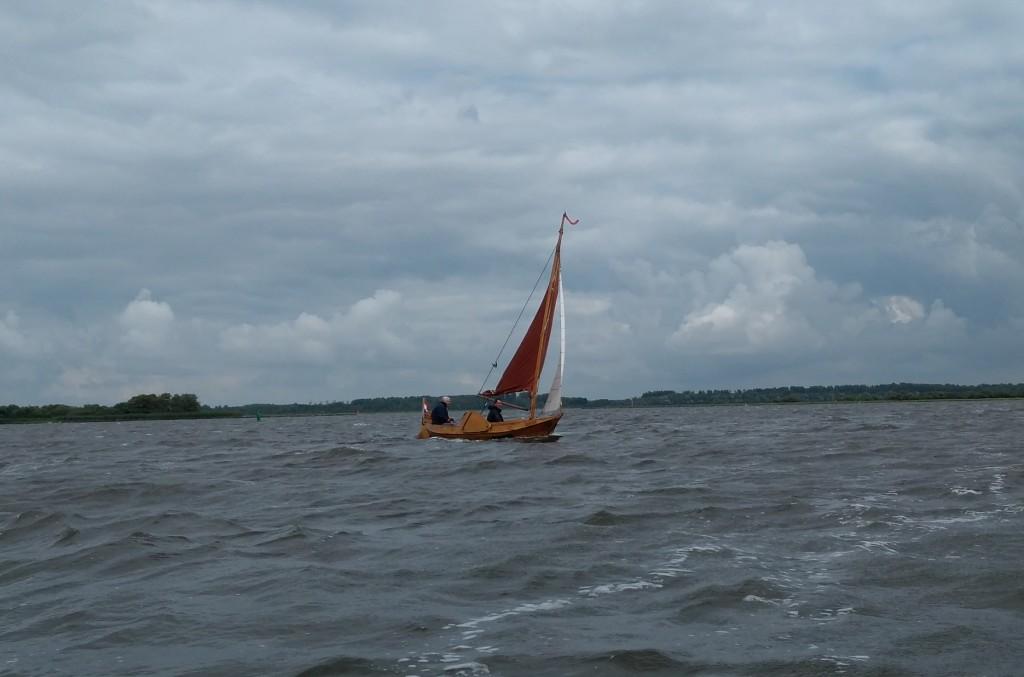 Huibertje op het Lauwersmeer